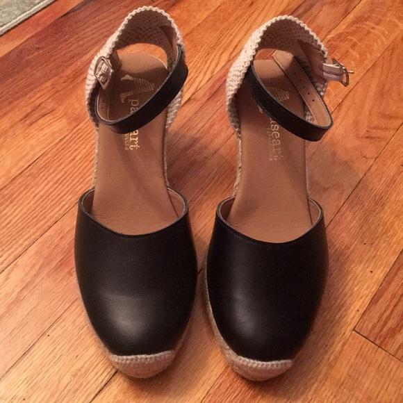 8820c542991 Black Paseart Espadrilles Size 8
